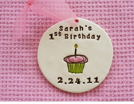 personalized first birthday ornament