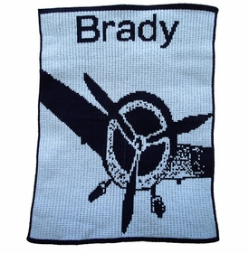 personalized fly away  blanket