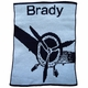 personalized fly away stroller blanket