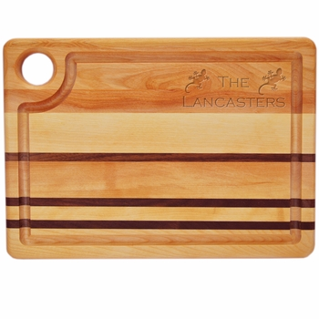 Personalized Gecko Integrity Board Steak Carving Board