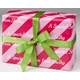personalized gift wrap - pixie pink