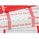 personalized gift wrap - silver dots