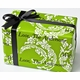 personalized gift wrap - sophisticated scrolls