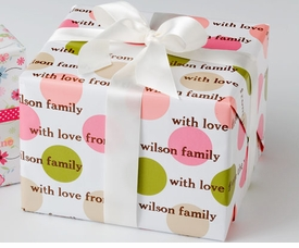 personalized gift wrap - gifts for mom