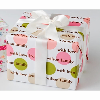 personalized gift wrap - summer spot
