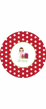 personalized gifts holiday plate (style 1p)