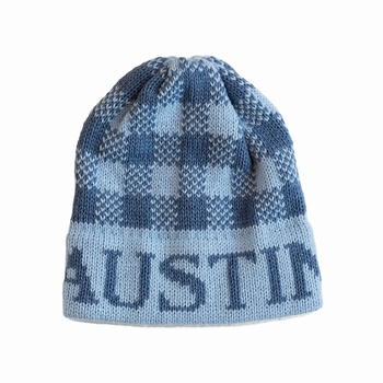 personalized gingham hat