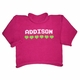 personalized girls hearts sweater