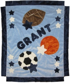 personalized good sport blanket