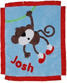 personalized hanging around blanket