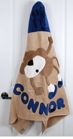 personalized hanging around towel