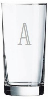 personalized highball glass (set of 6)