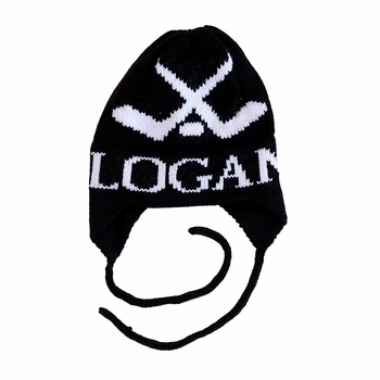 personalized hockey hat with earflaps