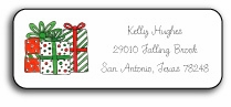 personalized holiday address labels � holiday gifts