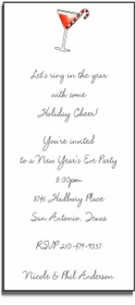 personalized holiday invitations � holiday cheer