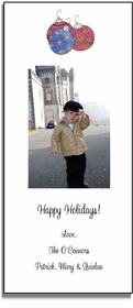 personalized holiday photo cards � ornaments