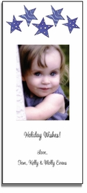 personalized holiday photo cards � seeing stars