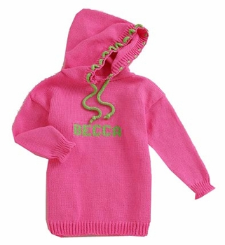 personalized hooded sweater