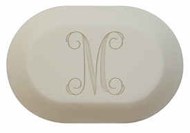 personalized initial soap (single bar)