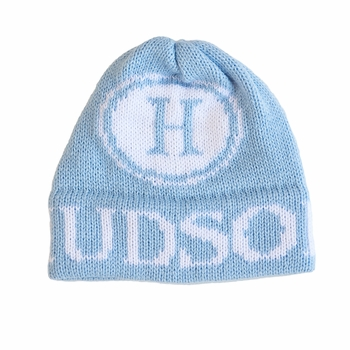 personalized initial stamp hat