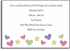 personalized invitations � girl power