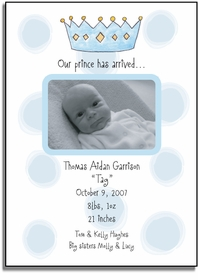 personalized invitations � my prince will come