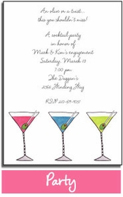 personalized invitations - party