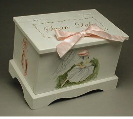 personalized keepsake chest - ballet