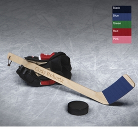 personalized keepsake hockey stick