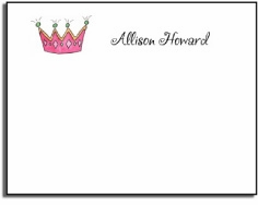 personalized kids notes � little princess