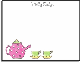 personalized kids notes � tea pot