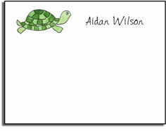 personalized kids notes � tiny turtle