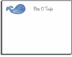personalized kids notes � whale of a time