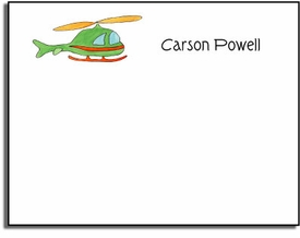 personalized kids notes � whirly bird