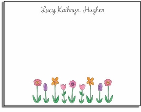 personalized kids notes � wildflowers