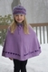 personalized knit poncho
