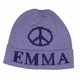 personalized large peace sign hat