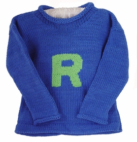 personalized letter sweater