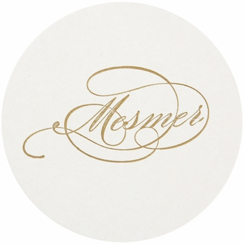 Personalized Letterpressed Coasters M30 By Haute Papier