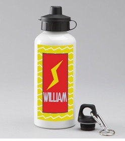 personalized lightning water bottle