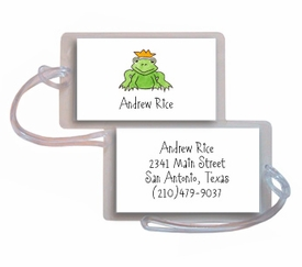 personalized luggage tags � prince of princes tag
