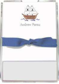 personalized memo sets - ahoy matey