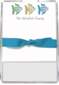 personalized memo sets � all the fish in the sea