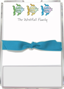 personalized memo sets – all the fish in the sea