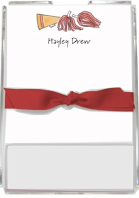 personalized memo sets � cheer squad