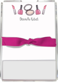 personalized memo sets � makeup madness