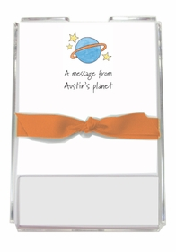 personalized memo sets � outer space