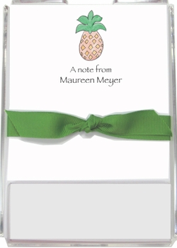 personalized memo sets – pineapple