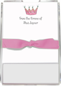 personalized memo sets � princess for a day