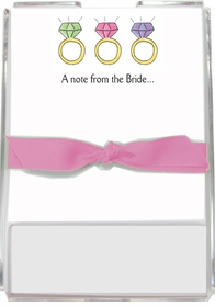 personalized memo sets � what a jewel